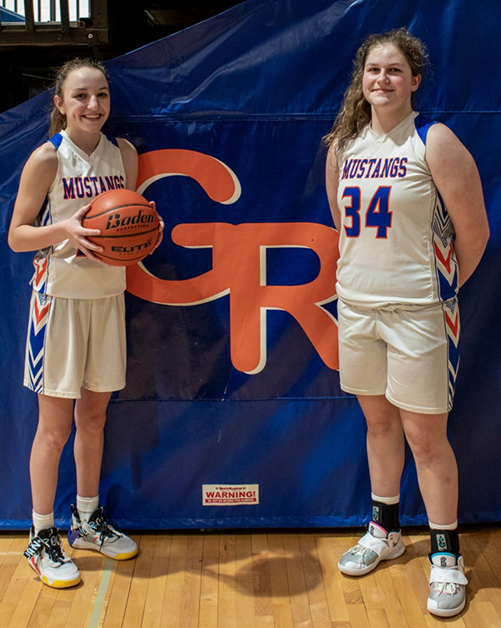 The Dynamic Duo; Pair of Freshmen Helping Lady Mustangs To Solid Season