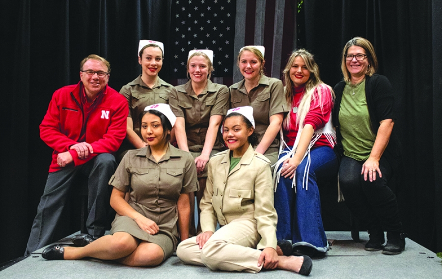 One Act Wins District Title, Sights Set On State