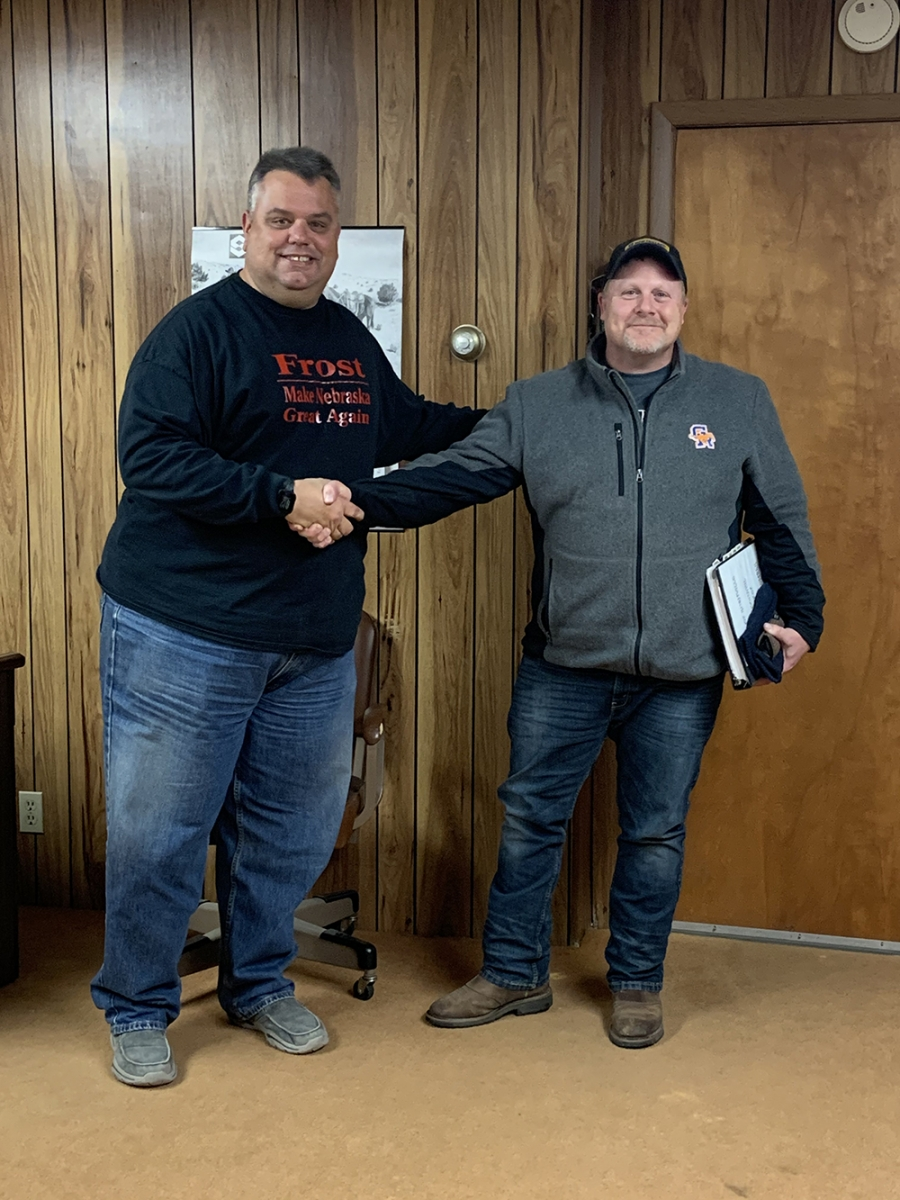Rushville City Council Swears in New Member; Appoints City Officials
